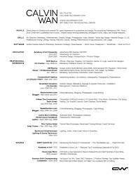 Creative Director Resume Samples Resume For Study