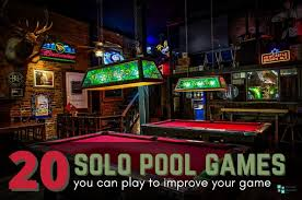 20 solo pool games to improve your game