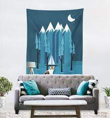mountain wall tapestry kids wall