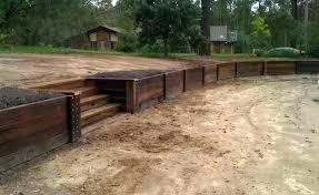 landscape timbers retaining wall retaining wall construction landscape timbers retaining wall landscape timber retaining wall cost