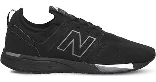 New Balance 247 Classic Leather Trainers in Black for Men - Lyst