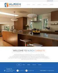 Cabinet Design Website Modern Professional Home Builder Web Design For A Company