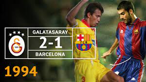 Nostalji Maçlar | Galatasaray 2 - 1 Barcelona - 23.11.1994 - YouTube