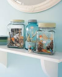Vacation Memory Jars {Source: Martha Stewart}