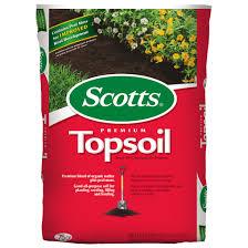Scotts Premium Topsoil 0 75 Cu Ft Walmart Com