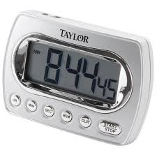taylor 5827 21 white clic digital timer photos and