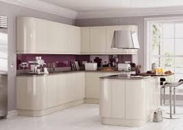 Cream High Gloss Kitchen Cabinet Doors