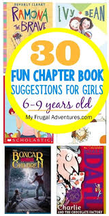 chapter book suggestions for s 6 9 books for kidskid