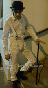 best images about clockwork alex a steampunk homemade droog costume from a clockwork orange