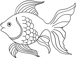 Fish Coloring Page For Toddlers Pages Gorgeous Sheet Kids Marvellous