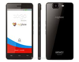 myphone myphone infinity octa core smartphone specs price and features