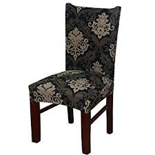 forcheer dining chair slipcovers stretch chair covers kitchen seat covers four seasons chair cover protector for