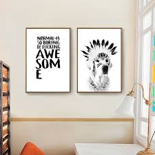 Small Picture Aliexpresscom Buy black white letters paintings poster modern