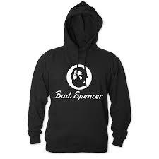 Hoodie schwarz Spencer Official Bud - Logo