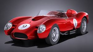 About this vehicle this 1958 ferrari 250 testarossa is a modified vehicle with updates to the exterior, interior and drivetrain. 3d Model Ferrari 250 Testa Rossa 1957 1958 Cgtrader