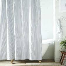 pinstripe shower curtain ticking stripe shower curtain iron black and white pinstripe shower curtain