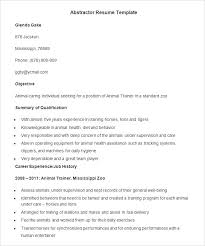 Resume Template Examples sample agriculture resume – kappalab