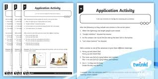 Using Commas To Clarify Meaning Application Worksheet