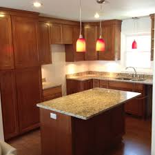 Granite Countertops For Kitchen Cherry Cabinets With Granite Countertops Kitchen With Custom