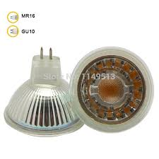 <b>5w MR16 LED</b> Spotlight <b>Glass</b> body AC/DC12V dimmable COB <b>LED</b> ...