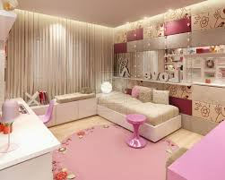 home office colorful girl. Bedroom Designs For Teenage Girls White Metal Stained Office Chair Rectangle Purple Fur Rugs Oak Laminate Shelves Round Bed Be Equipped Pink Bedding Home Colorful Girl U