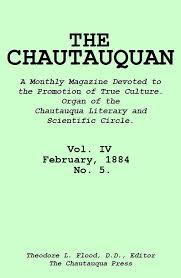 The Project Gutenberg Ebook Of The Chautauquan Vol Iv