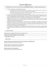 Security Resume Examples Resume Professional Writers