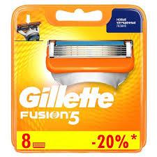 Интернет-магазин <b>Сменные кассеты для бритья</b> Gillette Fusion ...