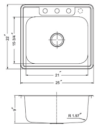 Size Of A Kitchen Sink  InsurserviceonlinecomSmall Kitchen Sink Dimensions