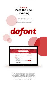 dafont rebranding concept 2017 featuring fontpik