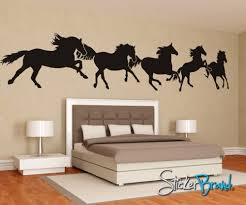 horse decals for walls vinyl wall art decal sticker horses running martin  on horse wall art decal with wall decal hardtissue com