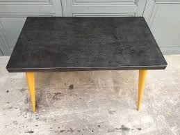 xavier pauchard french industrial dining room furniture. French T55 Table With Yellow Feet By Xavier Pauchard For Tolix Industrial Dining Room Furniture U