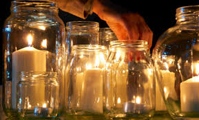 Lanterne Per Esterni Da Giardino : Portacandele con i barattoli di vetro idee da copiare leitv