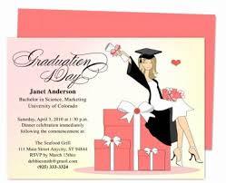 Templates For Graduation Invitations Free Graduation Announcement Templates Document Template