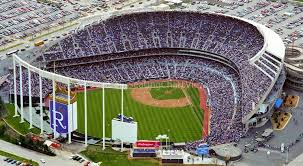 Kauffman Stadium Kansas City Mo Seating Chart View