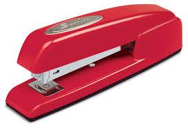 amazoncom swingline stapler 747 business manual 25 sheet capacity desktop rio red 74736 desk staplers office products amazoncom stills office space