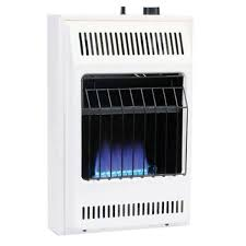 natural gas wall heater with