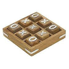 Wooden Naughts And Crosses Game Wooden Noughts and Crosses Tic Tac Toe Pedagogical Board Games for 15