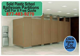 school bathroom stalls. Floor To Ceiling Braced \u2013 Commercial Bathroom Partitions School Stalls N