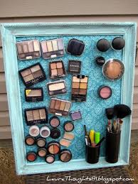 Makeup Magnet Board | 25+ Inexpensive DIY Birthday Gift Ideas for Women
