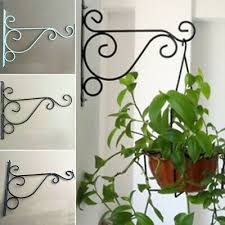 garden plant stands uk iron wall