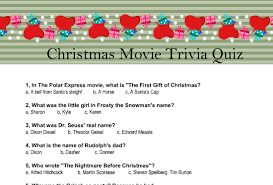 Movie Quote Trivia Best Free Printable Christmas Movie Trivia Quiz