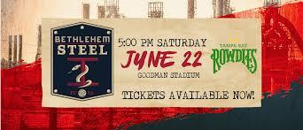 Lehigh Goodman Stadium Seating Chart Bethlehem Steel Fcs Match Against Tampa Bay Rowdies Moved