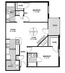 Small House Floor Plans 2 Bedrooms | Bedroom Plan (download ... Blueprint  Pics