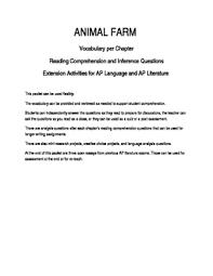 Animal Farm Book Review Essay
