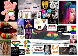 Layout lesbian myspace pride