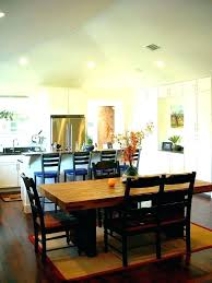 area rug under kitchen table size dining images of rugs tables best for round