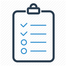 todo checklist checklist checkmark clipboard list report tasks todo list icon