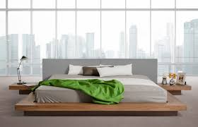 Modern low bed Architecture Oscar Low Profile Modern Bed Passport Furnishings Oscar Low Profile Modern Bed Passport Furnishings