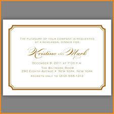 Formal Invitation Template Formal Invitation Template Art Resume Examples 9